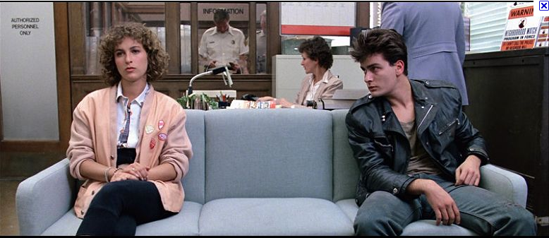 Charlie Sheen Ferris Bueller's Day Off