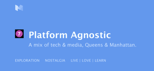 platform agnostic header on Medium